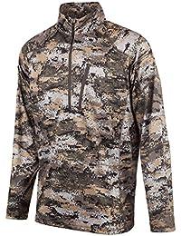984b6fcaf6ddf HUNTWORTH Men's Hunting Light Weight 1/4 Zip Shirt