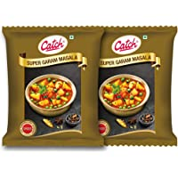 CATCH SUPER GARAM MASALA 200 gm - Pack of 2(400 GMS) WITH CATCH GARLIC PASTE 100 GMS FREE