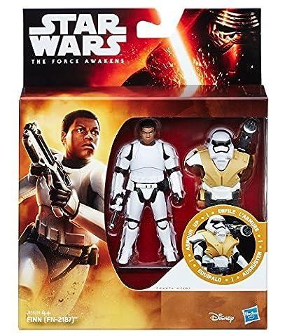 Star Wars The Force Awakens Armure Vers Le Haut De Finn Stormtrooper FN2187 figurine