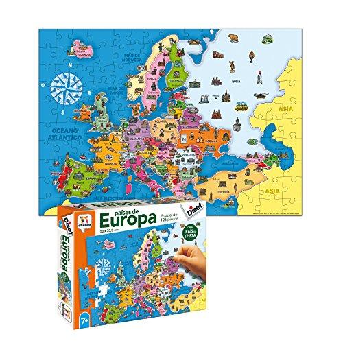 Diset- Juguete educativos Paises De Europa 68947