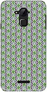 The Racoon Lean printed designer hard back mobile phone case cover for Coolpad Note 3. (Green The)