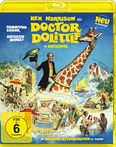 Doctor Dolittle - Das Original (4k-remastered) [Blu-ray]