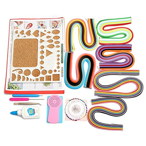 king-do-way-set-strumento-quilling-kit-attrezzo-per-quilling-penna-set-per-filigrana-di-carta-multi-