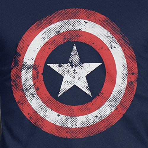 Zoom IMG-1 capitan america maglietta a maniche