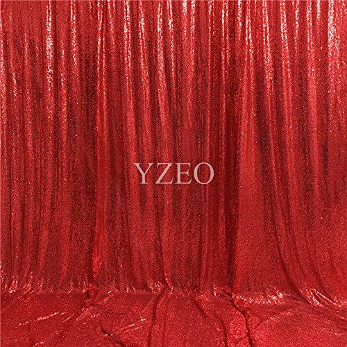 YZEO 4pies x 7pies fotografía telón fondo lentejuelas