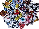 MXTBY 50PCS Vinyl Decal Sticker Graffiti Bombe Laptop Skate Autocollants Imperméables