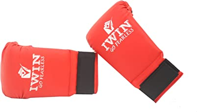 IWIN Karate Gloves Red/Blue