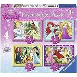 Ravensburger Disney Princess 4 in a box (12, 16, 20, 24pc) Jigsaw Puzzles