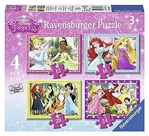 Ravensburger Princesas Disney - Puzzle 4 en la Caja 07397 9