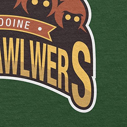 TEXLAB - Sandcrawlers of Tatooine - Herren T-Shirt Flaschengrün