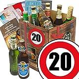 Biergeschenke zum 20 | Bier Geschenke | INKL Bierbewertungsbogen und 6 Geschenk Karten | Bier Set mit 9 Bieren der Welt | Männergeschenke 20 Männergeschenke 20. Geburtstag Männergeschenke 20 Männergeschenke
