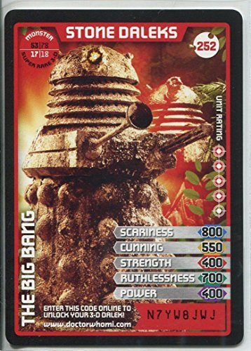 Used, Doctor Who Monster Invasion Extreme Card #252 Stone for sale  Delivered anywhere in UK
