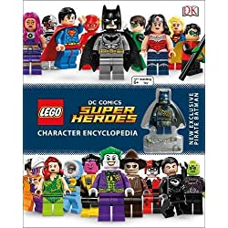 LEGO DC Super Heroes Character Encyclopedia: Includes Exclusive Pirate Batman Minifigure