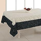 ShalinIndia Tablecloth 60 x 90 inches Rectangular - Printed Cotton - Indian Home Table Decor at amazon