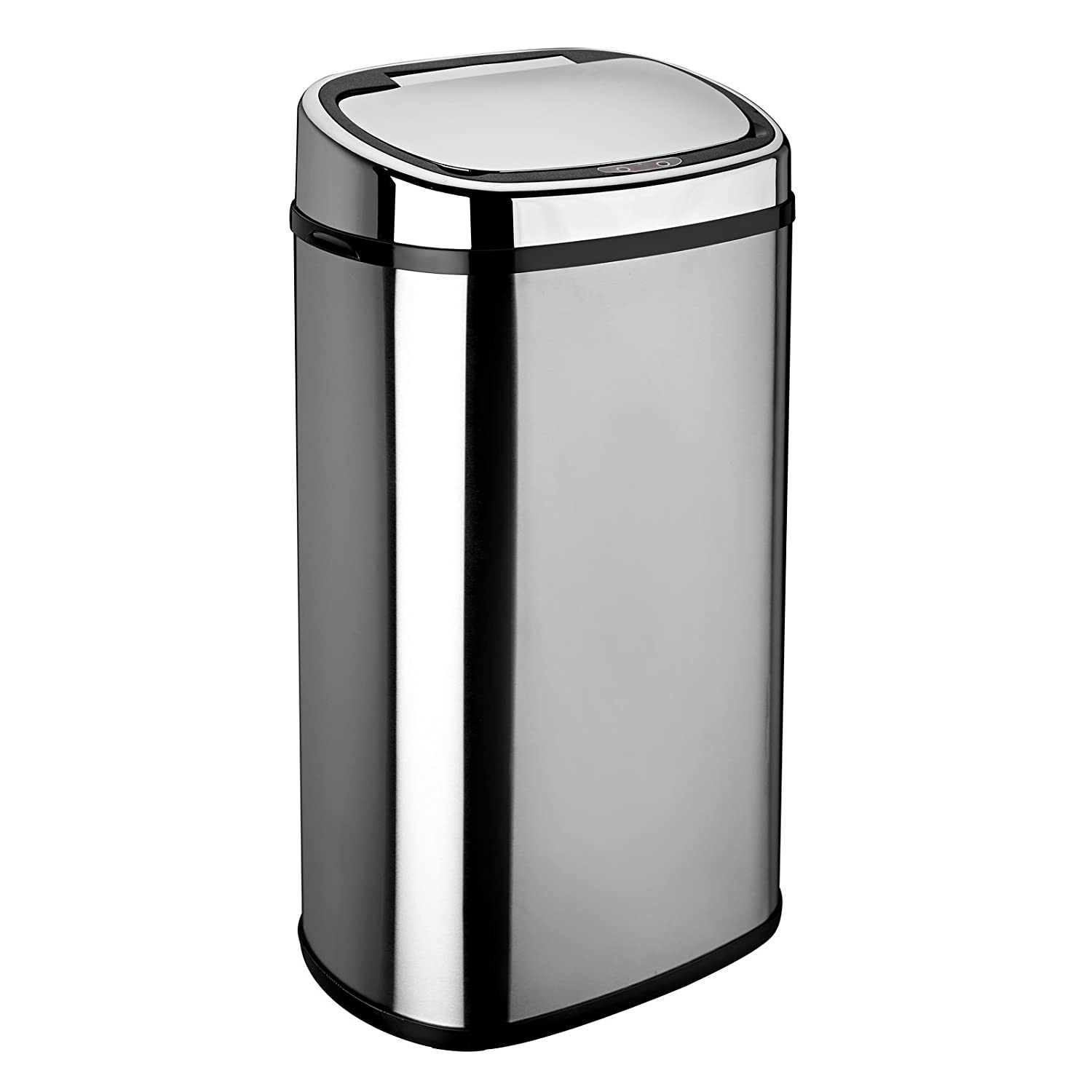 dihl 58l black sensor bin kitchen home