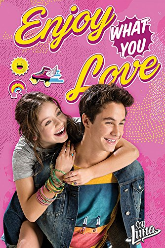 empireposter 748836 Soy luna - Enjoy What You Love - Disney Serie Druck Plakat, Papier, mehrfarbig, 91,5 x 61 x 0,14 cm