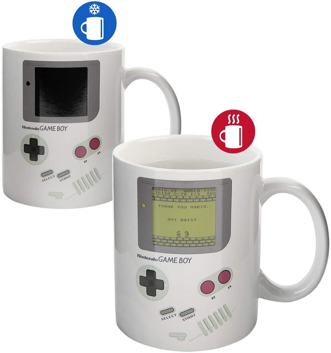 Nintendo Game Boy - Heat Change Mug Tasse Mehrfarbig