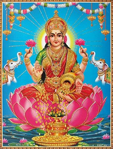 avercart-goddess-laxmi-shri-lakshmi-laxmiji-goddess-of-wealth-poster-21x28-cm-unframed-85x11-inch-ro