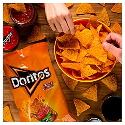 Doritos Tangy Cheese Tortilla Chips Sharing Bag, 180 g : everything five pounds (or less!)