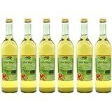 Apfel-Ingwer-Saft vom Bleichhof - 100% Direktsaft, naturrein und vegan. OHNE Zusatzstoffe und Zuckerzusatz. 6er Pack (6 x 0,72 l)