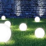 ProBache - Lampe boule 20 cm solaire...