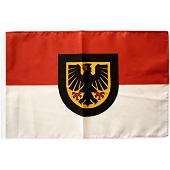 Flaggenfritze/® Flagge Deutschland Stadt N/ürnberg 30 x 45 cm