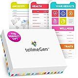 TellmeGen Test DNA Salute + Ancestry (Origini) | Il Test del DNA più completo (Malattie più importanti, Ancestry, Compatibili
