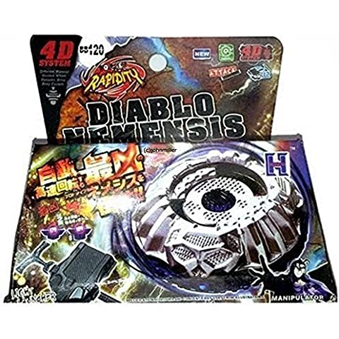 Beyblade PROTO DIABLO NEMESIS w/ Launcher & Ripcord in RETAIL PACKAGING by