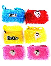 Prime Kids Handbags For Girls Small, Bags For Girls Stylish 6 Pcs Muticolor Pack Of 1