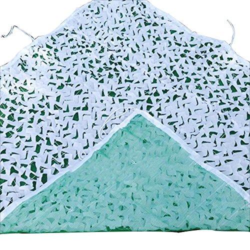 ZEMIN Sichtschutznetz Sonnensegel Verschlüsselung Luftverteidigung Schattierung Draussen Urwald Begrünung, Mehrere Größen (Farbe : Weiß, größe : 1.5 x 2m)