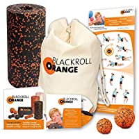 Blackroll Orange (Das Original) DIE Selbstmassagerolle - miniBAG-Set STANDARD mit miniBAG, Übungs-DVD, -Poster und -Booklet