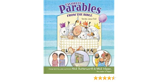 Favorite Parables from the Bible: Stories Jesus Told: Amazon co uk