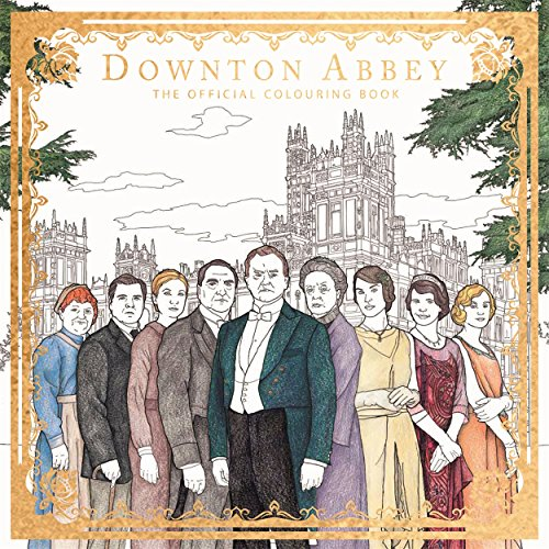 Downton Abbey (Adult Colouring/Activity)