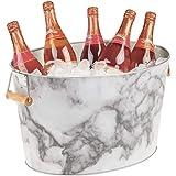 Champagne Seau /À Glace Capacit/é : 3L Or Haute Poli En Acier Inoxydable Seau /À Glace Vin Bi/ère Bouteille De Champagne Seau De Refroidissement 3L5L7L