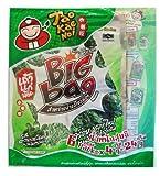 Crispy Seaweed Original Flavour 6 x 4g Sealed Sheets Tao Kae Noi Brand- Thai Snack