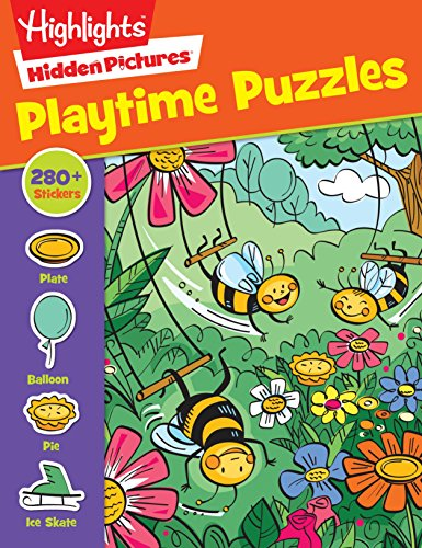 Highlights Sticker Hidden Pictures® Playtime Puzzles (Hidden Picture Puzzles)