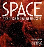Space 2018 Calendar: Views from the Hubble Telescope