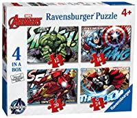 Ravensburger Avengers Assemble Jigsaw Puzzles (Pack of 4)