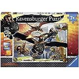 Ravensburger 10015 Dragons: Drachenzähmen leicht gemacht, 150 Teile XXL Puzzle