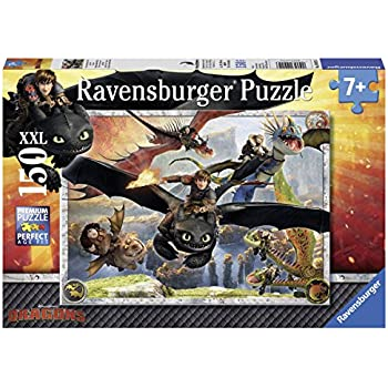 Ravensburger 10015 6 how to train your dragon puzzle 150 piece ravensburger 10015 6 how to train your dragon puzzle ccuart Gallery