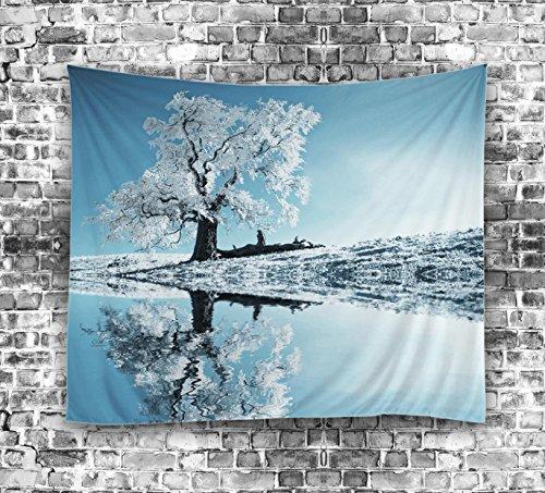 Blue Mandala Wall Hanging Tapicería Bloomery Beach Throw Decoraciones para el hogar Wall Art , 6 , 150*130cm
