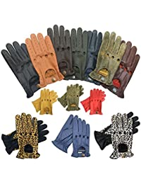 PRIME LEATHER TOP QUALITY REAL SOFT LEATHER MEN'S WITHOUT LINING DRIVING GLOVES RETRO GLOVE IN TEN BEAUTIFUL COLOURS 507