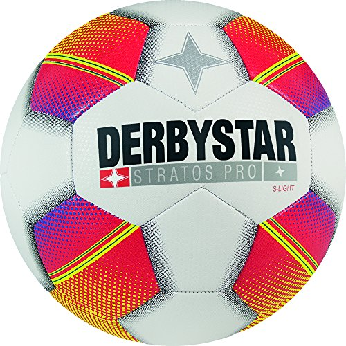 Derbystar Stratos Pro S-Light, 4, weiß rot gelb, 1129400135