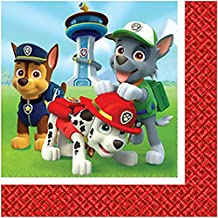 Paw Patrol party Napkins lunch