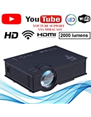 NISHICA UC46 WiFi LED HD Projector 1920 x 1080P 2000 lumens