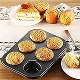 GXMWD 6Tazze Mini Muffin Panino Cupcake Cottura Bakeware MuffaCucina teglia da Forno teglie da Forno Strumento di Cottura Domestica teglia, Stati Uniti