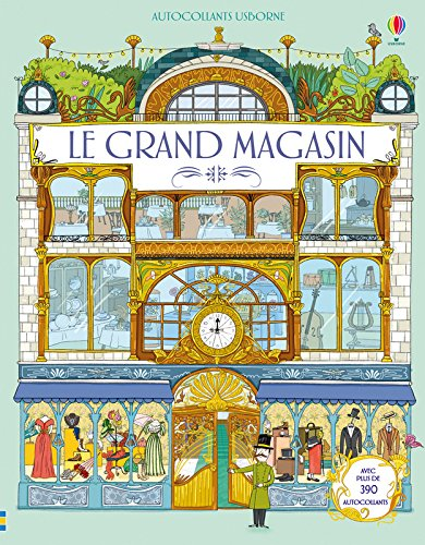 Le grand magasin - Autocollants Usborne