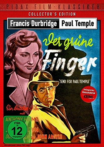 Francis Durbridge: Paul Temple - Der grüne Finger (Send for Paul Temple) - Collector's Edition / Hochspannende Durbridge-Verfilmung mit umfangreichem ... Kurzgeschichte (Pidax Film-Klassiker) (Grün Tamara)