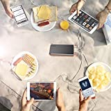 EasyAcc Monster 26000mAh Power Bank (4A Eingang 4.8A Smart Ausgang) Externer Akku Tragbares Ladegerät für Samsung Iphone HTC Tablets – Schwarz/ Orange - 3