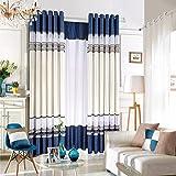 Salón Dormitorio estilo moderno minimalista mosaico , cortinas cortina interna,2*60W96L